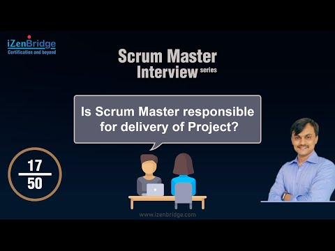 Is Scrum Master responsible for delivery of Project?