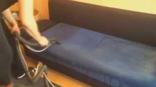Профессиональная химчистка диванов. Процесс чистки дивана