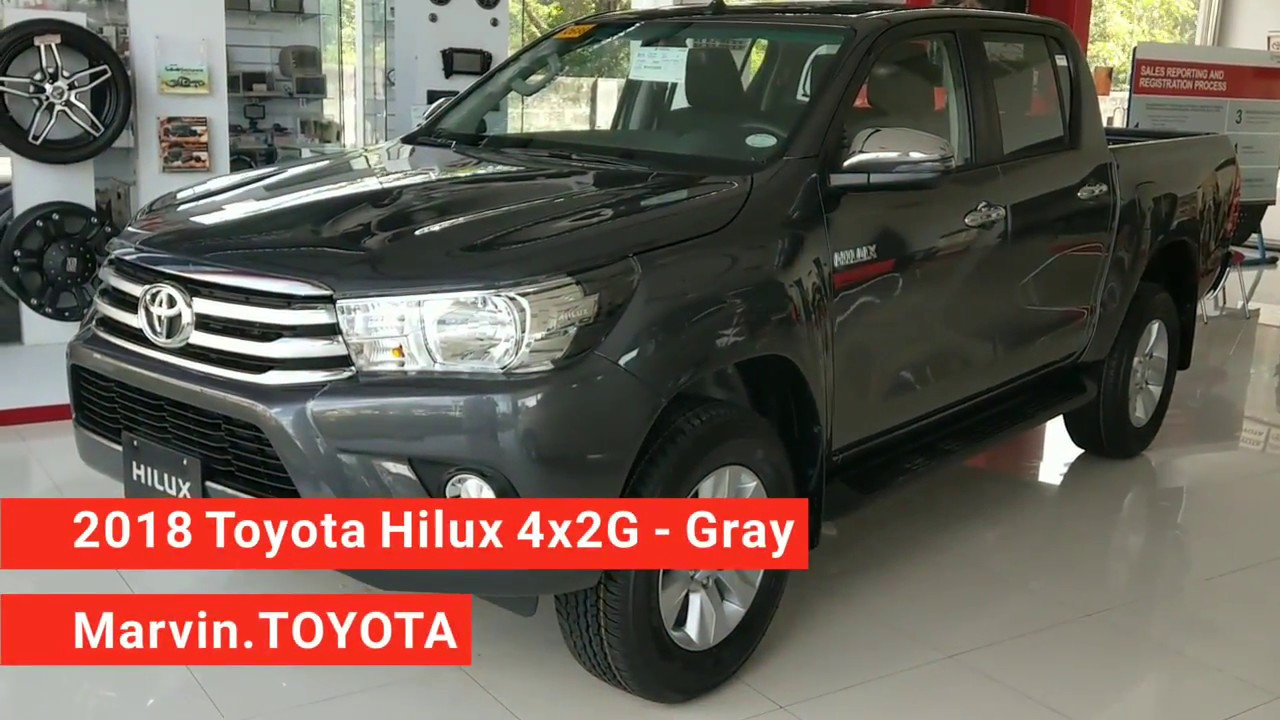 Toyota Hilux 2 4l 4x2g Gray Metallic Philippines Youtube