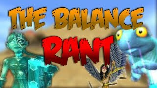 Wizard101: THE BALANCE SCHOOL RANT KINGSISLE WHY?!