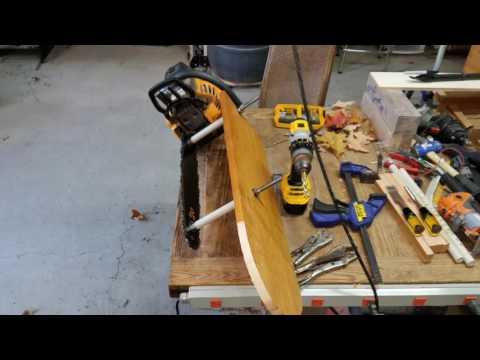 OMW Alaskan Chainsaw Mill Build