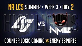 CLG vs NME HIGHLIGHTS | Week 3 NA LCS Summer Split 2015 S5 | CLG vs Enemy Esports W3