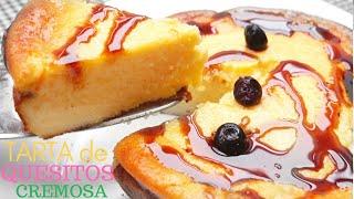 Tarta De Quesitos Pastel De Queso Fácil Y Rápido Youtube
