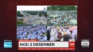 FULL - Jokowi dan Massa Shalat Jumat dalam Aksi 2 Desember