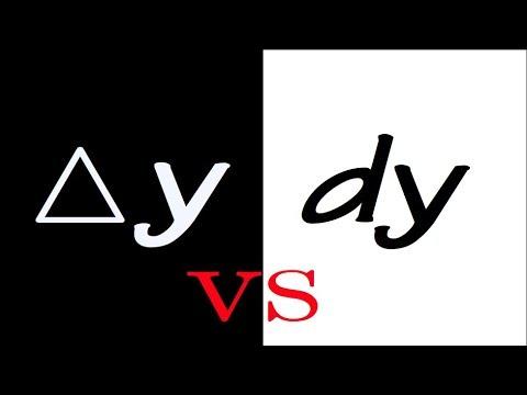Download delta y vs. dy (differential)