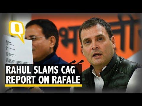 I Would Term CAG Report as a 'Chowkidar Auditor General Report': Rahul Gandhi