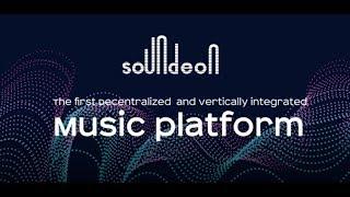 SOUNDEON - Музыкальная платформа  на Blockchain