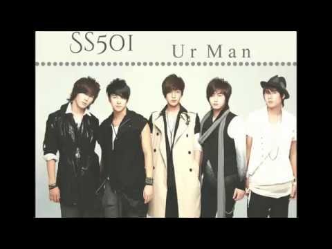 SS501 - Ur man. Letra fácil (pronunciación)