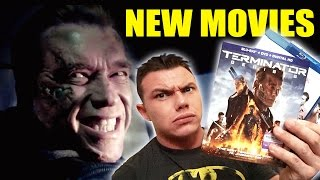 NEW BLU-RAY MOVIES - TERMINATOR GENISYS  - Late Night Update!