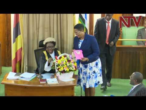 MPs celebrate speaker Kadaga's 62nd birthday