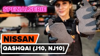 Montage NISSAN QASHQAI / QASHQAI +2 (J10, JJ10) Bremsklötze: kostenloses Video