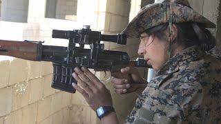 EXCLUSIF : À l'assaut de Raqqa, fief de l'EI en Syrie