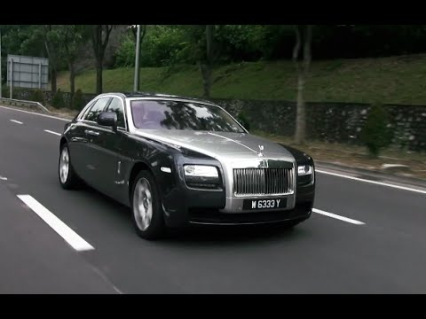 Rolls-Royce Ghost Series 1 - Roda Pusing Review