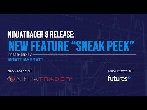 """NinjaTrader 8 New Feature Release """"Sneak Peak"""""""