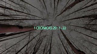1 Crônicas 29.1-22  | Rev. Valdermar Alves