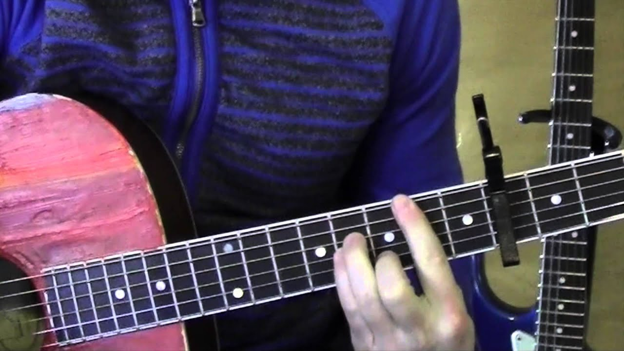 Take your time guitar lesson standard chord version sam
