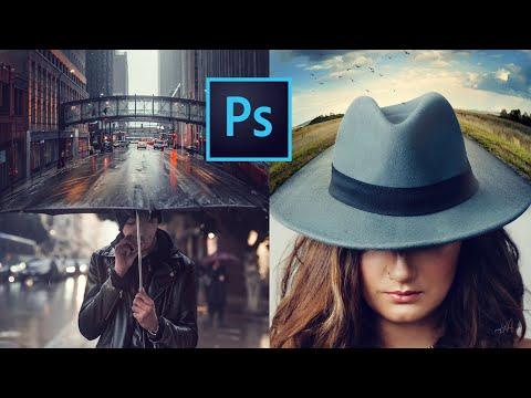 Quick Photoshop Blend Images to a Composite (2) - Photoshop Tutorial thumbnail