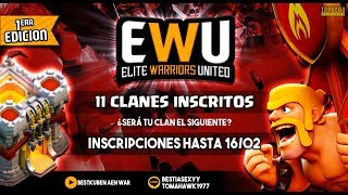[LIVE]: ¡¡¡CATALUNYA.2014W VS SUPREMEWARRIORS - EWU - 4 FINAL!!! Clash of Clans - [ALGAME]