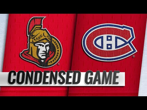 12/04/18 Condensed Game: Senators @ Canadiens