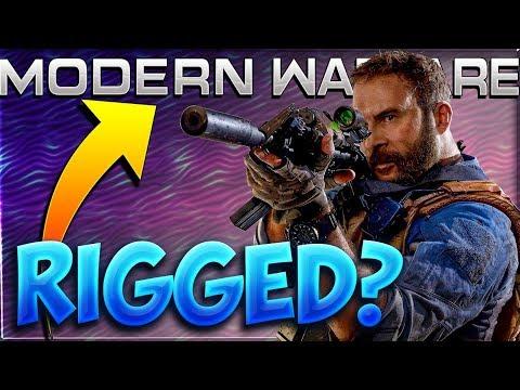 PROOF Matchmaking RIGGED In Modern Warfare? (SBMM PATENT)