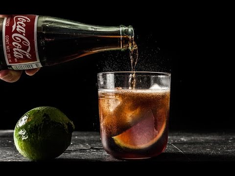 Rum and Coke Recipe (Cuba Libre) - How to Make a Rum & Coke