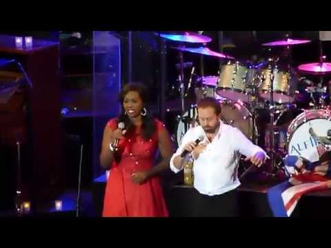 Alfie Boe, Angel Blue & The Military Wives 'Rule Britannia' Scarborough 27.06.15 HD