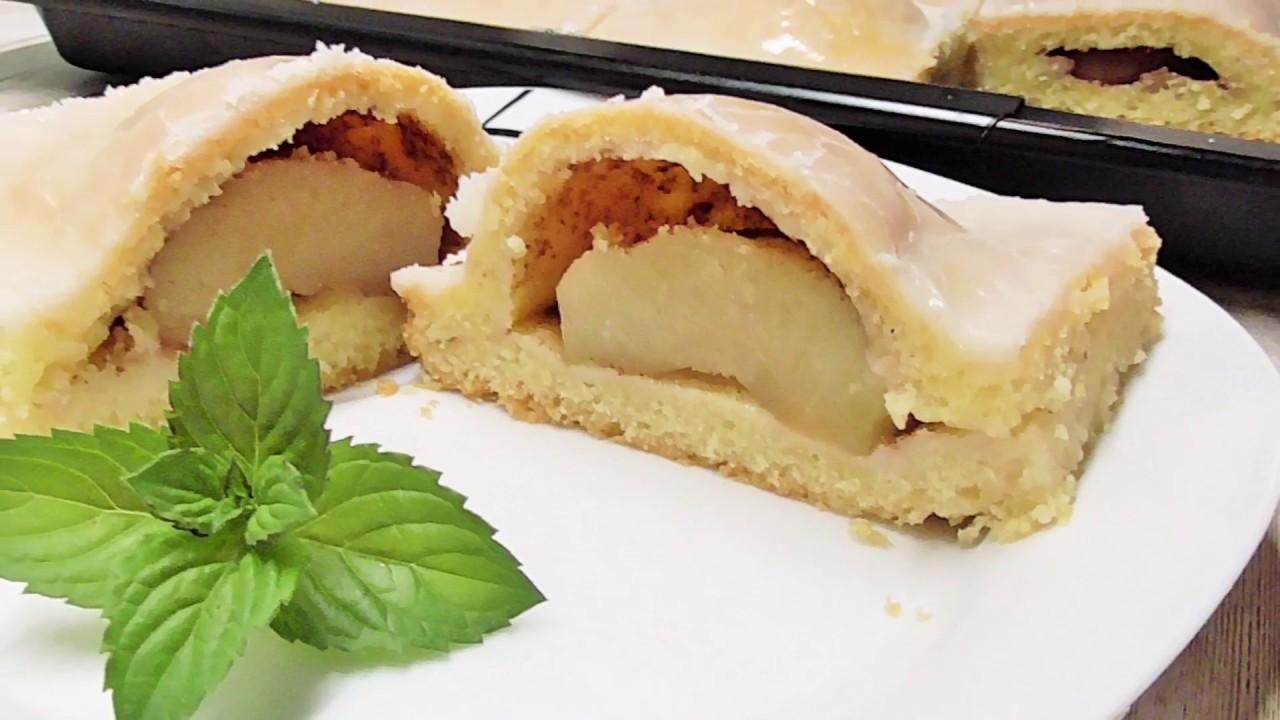 Szarlotka z polöwkami jablek / Kasia ze slaska gotuje