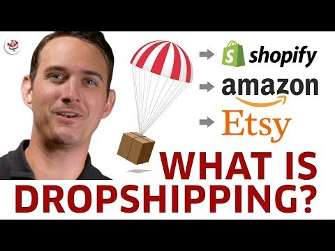 WHAT IS DROPSHIPPING? (six figure passive income from just $100 invested per month?)
