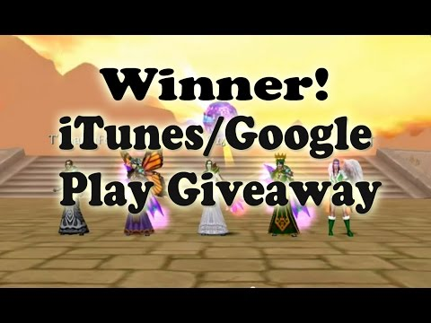 WINNER ITunes/Google Play Giveaway - Order & Chaos