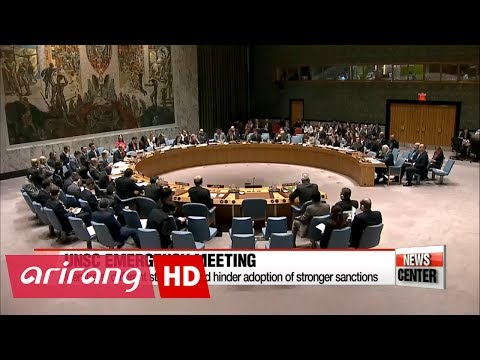 UNSC meeting on N. Korea's missile launch unlikely to result in strong sanctions with U.S.