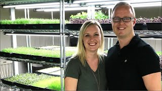 $10,000 a month growing microgreens in a basement!