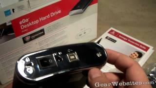 Iomega eGo 1 TB (terabyte) External Hard Drive