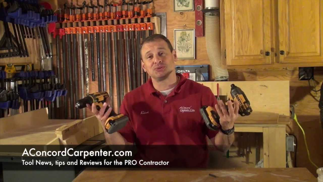 BOSTITCH 18 Volt Cordless Drill And Impact Driver