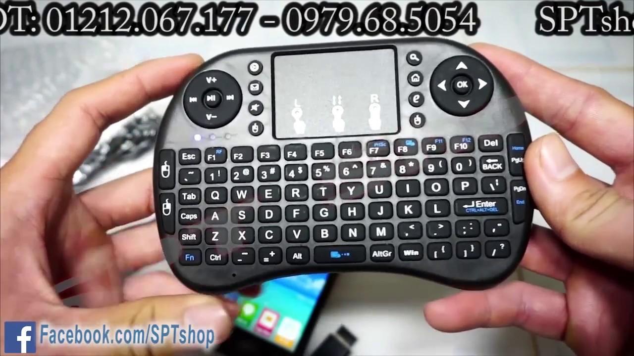 Bàn phím mini dùng cho tivi, máy tính, điện thoại ✅ #SPTshop 100