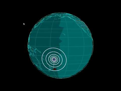 EQ3D ALERT: 10/18/17 - 6.0 magnitude earthquake in the South Pacific Ocean