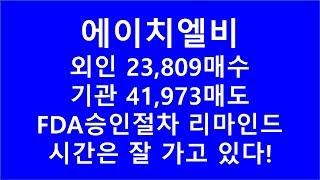 [주식투자]에이치엘비(외인23,809주 매수, 기관41…