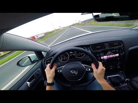 Volkswagen Golf 1.0 TSI 2017 Manual Gearbox - POV driving (city, highway, district road)