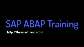SAP ABAP Training - Working with Structures (Video 5)   SAP ABAP