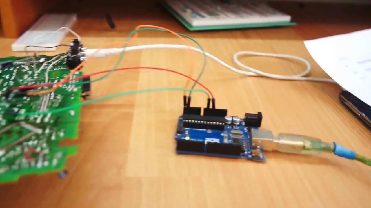 Разработка аудиопроцессора на tda7719 для установки а авто.