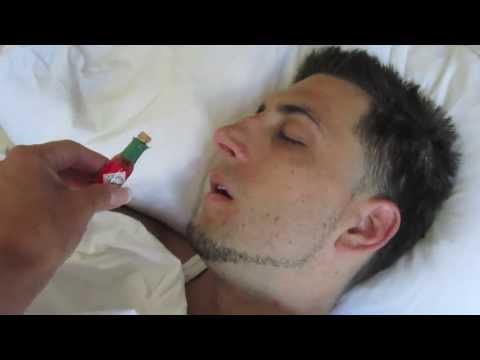 Sleeping Hotsauce PRANK