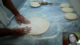 Receita de massa de pizza ( A melhor massa de pizza do youtube )