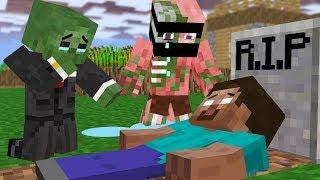 Monster School  R P Herobrine With Enderman    Minecraft Animation