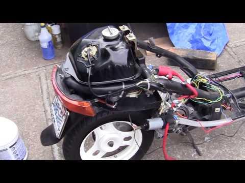 317- Operation Honda DIO= 120cc STROKER ENGINE.