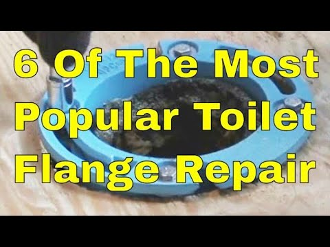6 of the top toilet flange and floor repairs and replacement 👍👍👍