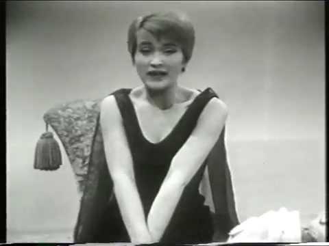 "Jasperina de Jong ""Callgirl"", Cabaret Lurelei, 1962."