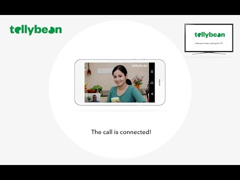 Tellybean video calling - how to make a mobile call