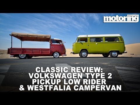 VW Type 2 low-rider pickup & Campervan