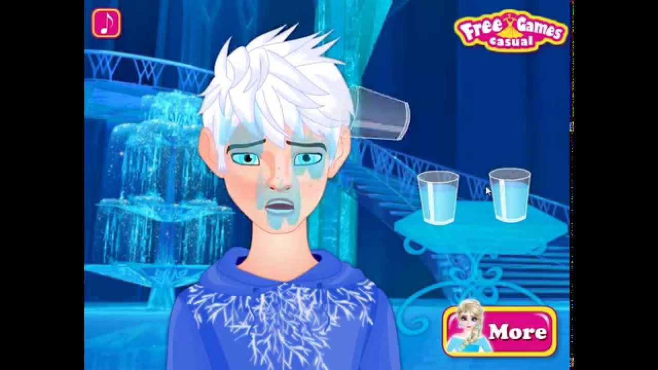 Elsa und Jack Frost - yiv.Com - Free Mobile Games Online