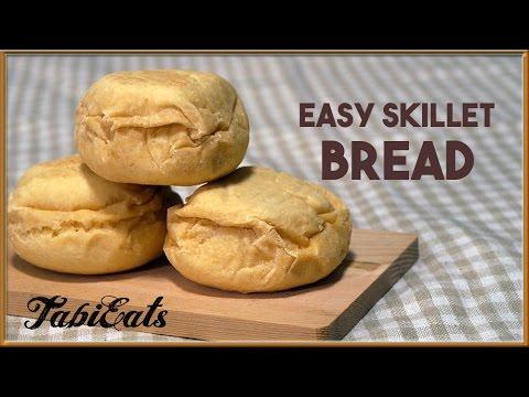 Easy Skillet Bread NO OVEN