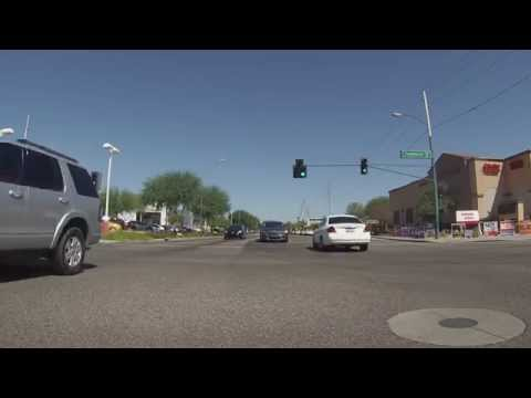 Dobson Rd, Loop 202 to I-10 to SR 51 and Courtesy Chevrolet, Phoenix, AZ, GP010095